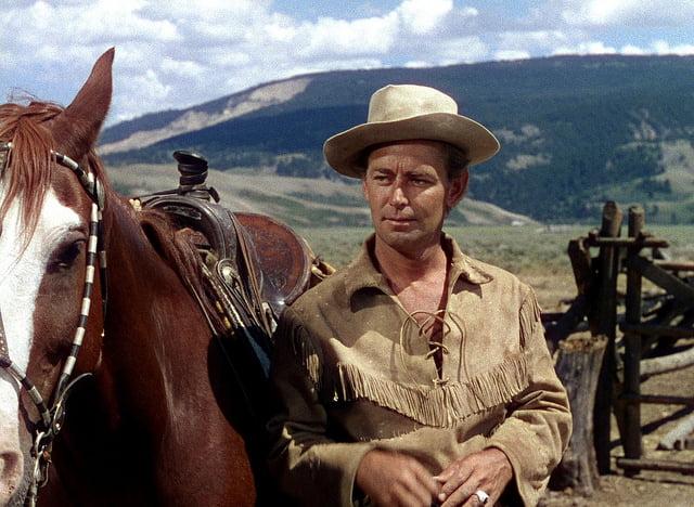 Shane, western tipic cu buni si rai, cu eroi si raufacatori